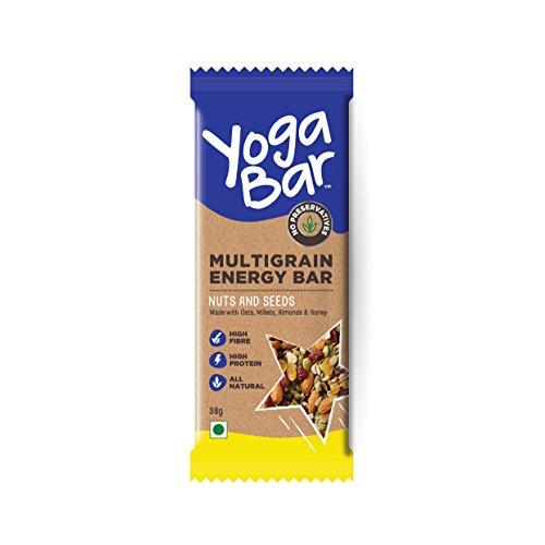 Yogabars Multigrain Energy Bars (Variety Box - Pack of 10)