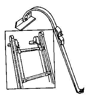 Qual Craft Ladder Hook. Part # 2480
