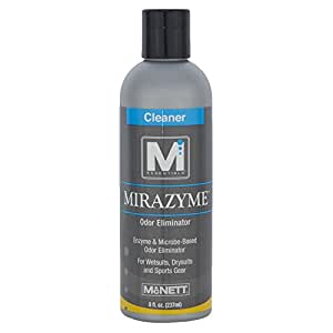 M Essentials Mirazyme Enzyme-Based Odor Eliminator, 8oz