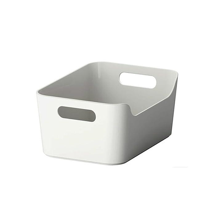 Amazon.com: Caja de almacenamiento abierta, organizador de ...
