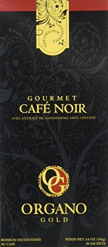 1 Box Organo Gold Gourmet Black Coffee , Organo Gold Black Coffee Organic 100% Certified , Organo Gold Instant Coffee , Organo Gold Black Coffee (Black Gourmet Coffee)