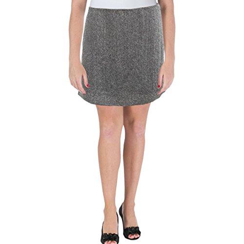 - Polo Ralph Lauren Womens Crepe Beaded Mini Skirt Gray 10