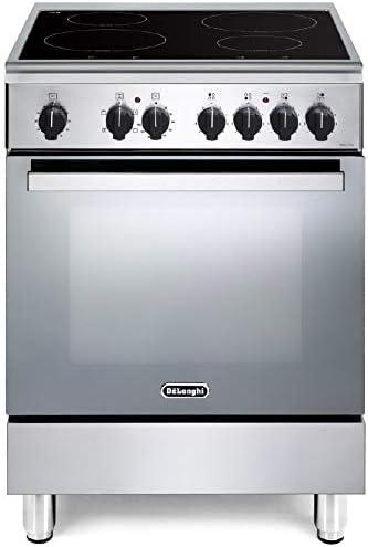 De Longhi Dmx 64 In Ed Cucina A Induzione Con Forno Elettrico Ventilato 60x60 Cm Classe A Inox Amazon It Grandi Elettrodomestici