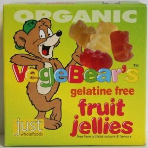 Organic Vegan Gummy Bears Cola Koalas - 100 grams