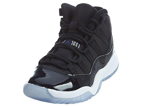 Jordan 11 RETRO BP boys fashion-sneakers 378039-003_2.5Y - BLACK/CONCORD-WHITE