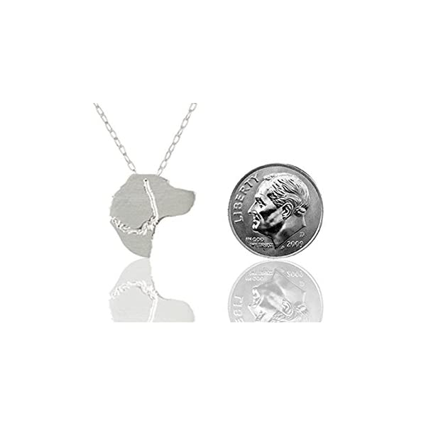 SilhouPETte English Springer Spaniel Jewelry, Necklace with Pendant 2