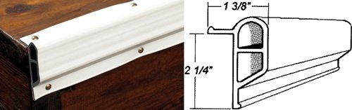 Taylor Made Products 46097 46097 Dock Pro Vinyl Dock Edging Boating Hardware & Maintenance Supplies