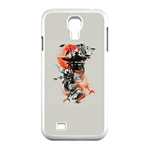 Samsung Galaxy S4 9500 Cell Phone Case White The Lost Temple VMK Protective Unique Cell Phone Case