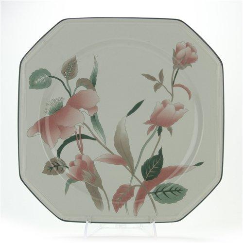 Silk Flowers by Mikasa, China Chop (Flower Chop Plate)