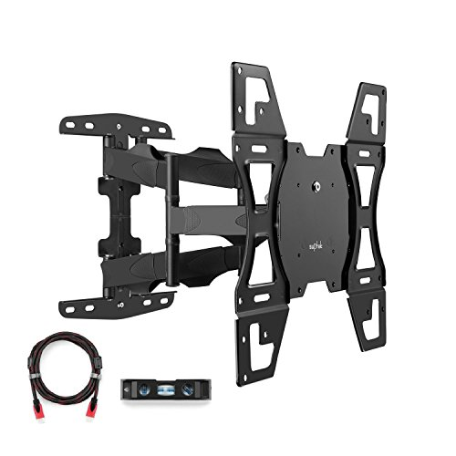 suptek Articulating Full Motion Tv Wall Mount 26''-55'' LED LCD Plasma TVs VESA Standard up to 400x400mm,100 lbs Weight Capacity MA52A by suptek