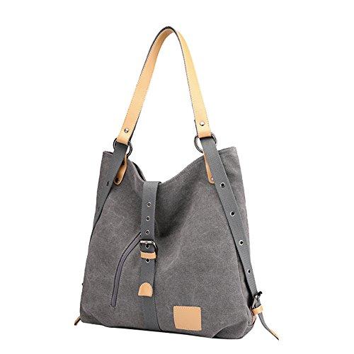 Clutch Lonson Bag Handbags Canvas Blue Bags Totes Bags for Casual Shoulder Women 7q7wTWtrZ