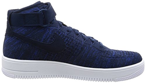 College black 101 Force AIR Navy 1 College white 817420 Flyknit Nike Navy MID 1aUZwFq
