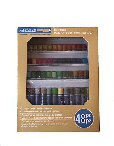 Artist's Loft Fundamentals Oil Pastels 48pc by Artists Loft
