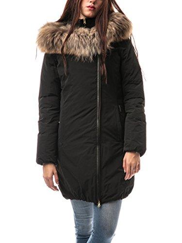 Black Eugene Eugene Woolrich Coat Woolrich Eugene Coat Black Woolrich EBq88T