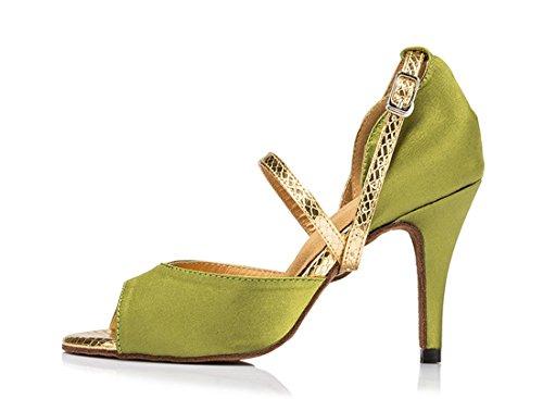 TDA - Zapatos con tacón mujer 8.5cm Heel Green