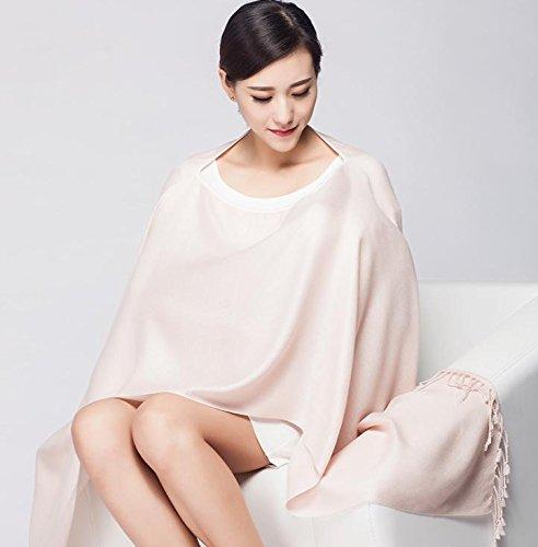 Topwon 100% Cotton Breast Feeding Nursing Cover / Nursing Scarf Pink
