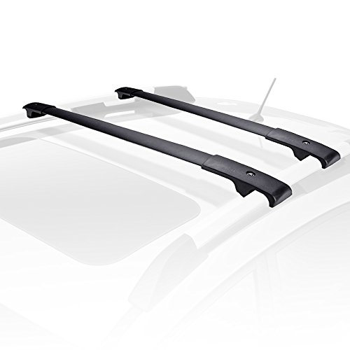 Subaru Forester Roof - AUXMART Roof Rack Cross Bars for 2014–2018 Subaru Forester (Black)