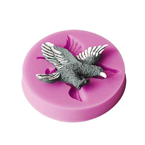 - FidgetFidget New 3D Eagle Resin Silicone Soap Craft Mold Handmade Candy Ice Cookie Cube Top