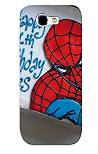 New Snap-on Carpalv Skin Case Cover Compatible With Galaxy Note 2- Spiderman Cake Picture Group Picture Image By Tag
