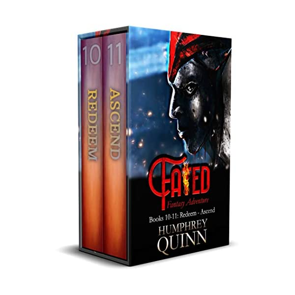 Projector Bundle (Series Finale! Books 10-11: Redeem & Ascend) (Fated Fantasy Adventure Collection Book 5)