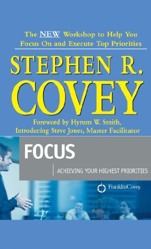 Download By Steve Jones - Focus : Achieving Your Highest Priorities (Unabridged) (2003-01-16) [Audio CD] pdf epub