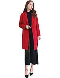France CG Wool Coats for Women Doubles-Sided 100% Wool Elegant Design Suit for Any Occasion G0057