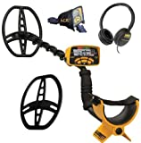 Garrett Ace 400 Metal Detector with Waterproof Coil and Headphone Plus Free Accessories