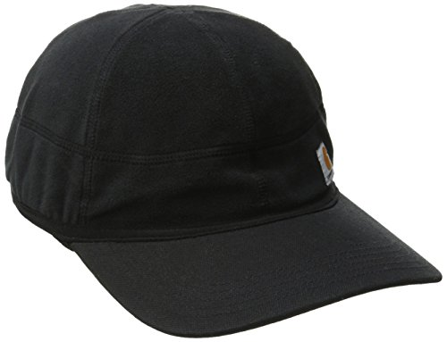 Carhartt Men's Force Griggs Fleece Visor Cap, Shadow, One (Shadow Fleece Cap)