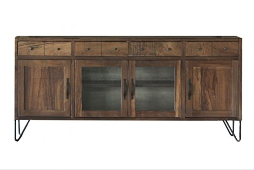 Rustic Style Parota Wood 80'' TV Stand / Sideboard by Crafters and Weavers