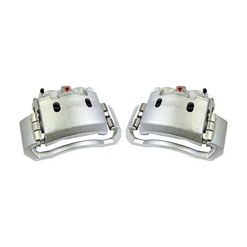 CCK02948 [2] FRONT Premium Grade OE Semi-Loaded Caliper Assembly Pair Set
