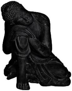 Amedeo Design 2200-9B Resting Buddha Statue