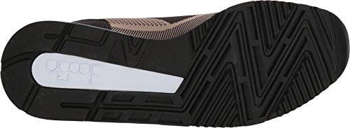 Weave Diadora Unisex V7000 Low Bean cobblestone adulto Scarpe top Black 5w5Txr1X
