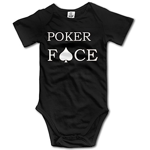 Lady Gaga Outfit Poker Face (Lady Gaga Poker Face In Crew Neck Newborn Baby Boys Baby Onesie)