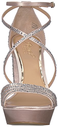 Badgley Mischka Juvel Womens Tarah Krenget Sandal Champagne