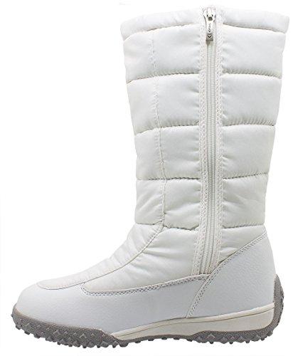 Kefas - 2723 Rave New - Damenstiefel Winterschuhe Bianco