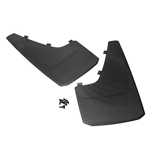 Bmw Splash Guard - SIZVER Universal MudGuards Flaps Splash Guards Fits Most Front or Rear Molded Pair Set 2pc (length 15.7