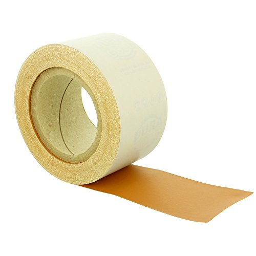 Dura-Gold - Premium - 400 Grit Gold - Longboard Continuous Roll 20 Yards Long by 2-3/4'' Wide PSA Self Adhesive Stickyback Longboard Sandpaper for Automotive and Woodworking by Dura-Gold (Image #2)
