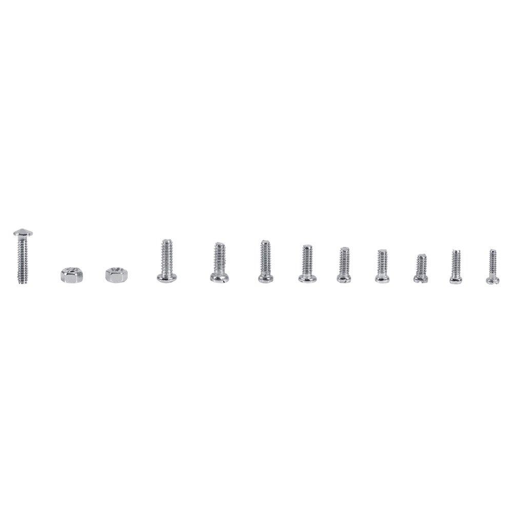 600pcs 12 Kinds of Small Screws Nuts Assortment Kit M1 M1.2 M1.4 M1.6 Screw for Watches Glassess Repair Tools tornillos BITA 1Box