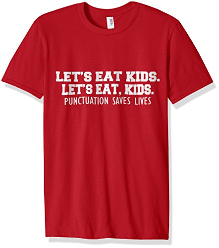 Punctuation Saves Lives Grammar Funny Kids T-Shirt Teacher ...
