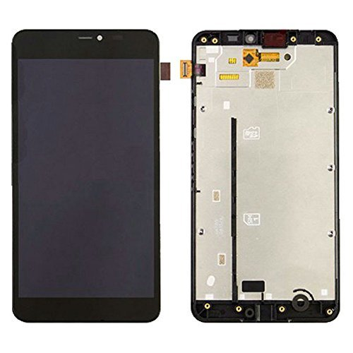 newest 47749 2332f Lumia 640xl LCD Display Touch Screen Digitizer Glass Assembly Replacement +  Frame For Microsoft Nokia Lumia 640xl 640 Xl