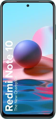 Redmi Note 10 (Aqua Green, 6GB RAM, 128GB Storage) – Amoled Dot Display | 48MP Sony Sensor IMX582 | Snapdragon 678 Processor