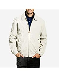 London Fog Men's Tall Auburn Zip Front Light Mesh Lined Golf Jacket