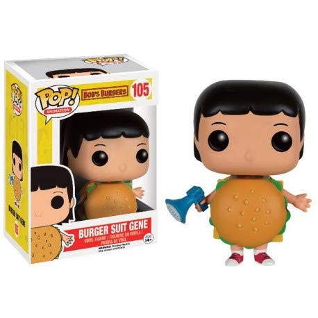 (Pop Funko Animation Burger Suit Gene Bob's Burgers Exclusive)