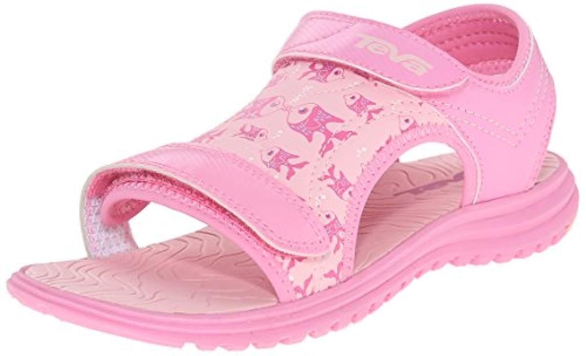 6 Pink4 Sport Fish Psyclone Sandaltoddlerlittle Toddler Us Teva KidKissing M dxWreCBo