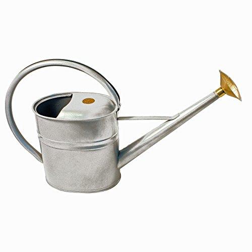 Haws English Garden Slimcan 2 Gallon Galvanized Metal Watering Can Burgandy
