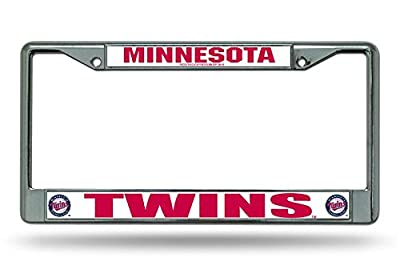 MLB Chrome License Plate Frame