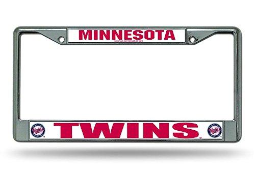 MLB Minnesota Twins Chrome License Plate Frame