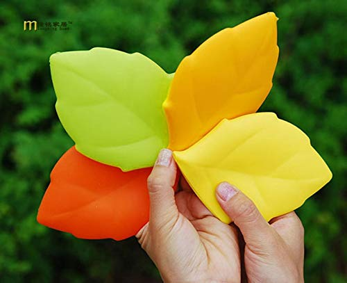 1PC Portable Travel Silicone Drinking Cup Personality Maple Leaf Shape Wash Cup Toothbrush Holder Cover Gargle Cup LB 272