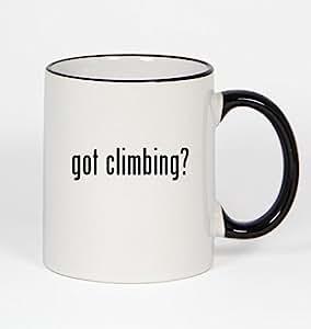 got climbing? - 11oz Black Handle Coffee Mug