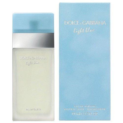Dolce & Gabbana Light Blue for Women Eau De Toilette, 3.3 Fl